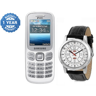 Samsung Guru 312/ Good Condition/ Certified Pre Owned (1 Year Warranty) with Watch