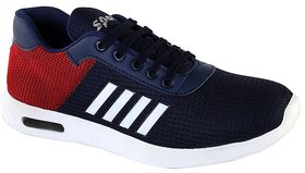 Zappy Men Blue  Red Sports Shoes