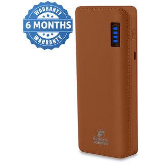 Gadgets forever IK-12 - 10000 mAH Power Bank - Brown