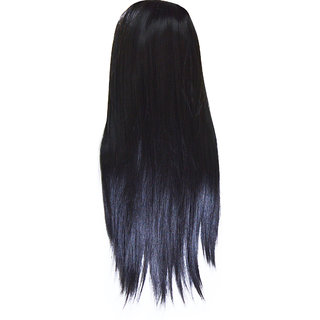 Adbeni Cecilla World's Most Synthetic Hair Extension Heavy Straight Hair-B01-4A