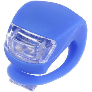 Futaba Silicone Bicycle Front LED Flash Light - Blue