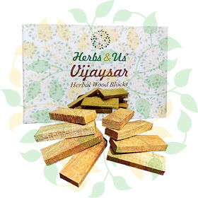 Herbs And Us Vijaysar Herbal Wood Blocks For Diabetes,