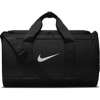 Nike Unisex Black W Team Duffle Duffel Bag