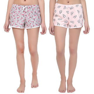 Kotty Women's Multicolor Sleep Short