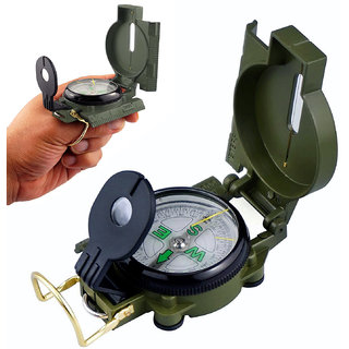 Jm 3 in 1 Magnetic Hiking Military Camping Lens Lensatic Compass -01