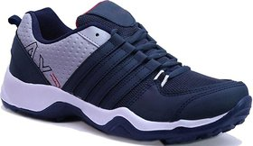 Clymb PVC Dangal Navy Running Sports Shoes For Men's In