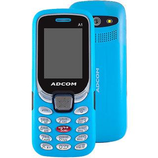 Adcom A1 Selfie - Dual Sim Mobile Phone with Selfie Camera - (1.8 inch Display, 1050 mAh Battery)