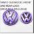 VOLKS WAGEN VW VENTO FRONT  REAR CHROME LOGO VOLKSWAGEN EMBLEM MONOGRAM(both)