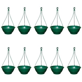 Crete Hanging Planter 10 Inch - Set of 10