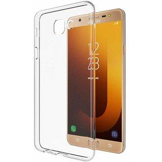 Transparent Soft Back Cover For Samsung Galaxy J7 Max