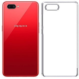 Buy Transparent Soft Back Cover For Oppo A3s Online - Get 74% Off