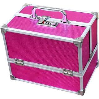 Pride Nicky to store Cosmetics Vanity Box (Pink)
