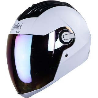Steelbird SBA 2  full face helmet (White )