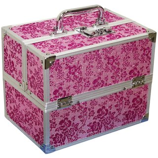 Pride Pretty to store cosmetics Vanity Box (Pink)