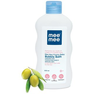 Mee Mee Gentle Baby Bubble Bath with Fruit Extracts 500ml