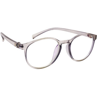 dc87b127677 Buy Derry White Transparent Round Spectacle Frame With ARC Lenses Online -  Get 79% Off