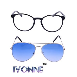 4fc2cfbb88 Buy Ivonne Combo Of Multicolor Unisex Sunglasses Online - Get 88% Off