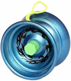 Khushi High Speed Metal Yoyo Toy -Blue
