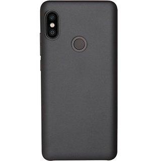 Soft Silicone Shinning Plating Design Case Cover For Xiaomi Mi A2 - Black