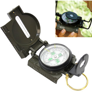 Jm 3 in 1 Military Hiking Camping Lens Lensatic Magnetic Compass -13