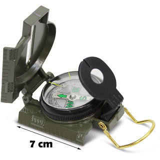 Jm 3-in-1 Lensatic Military Hiking Camping Lens Magnetic Compass -13