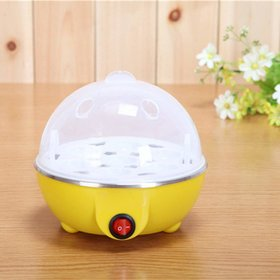 Shopper52 Portable Electric 7 Egg Boiler Egg Poacher Egg Cooker - EGGCOOKER