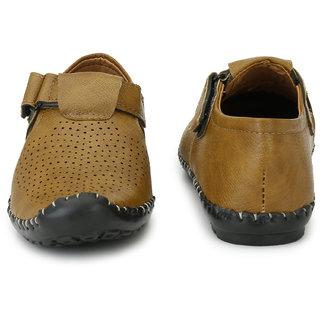 Tan Men Casual Zebx Roman Sandals m0nNw8