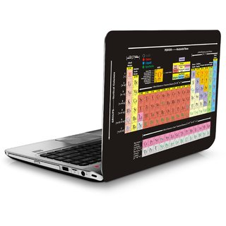SANCTrix Laptop skin science periodic table theme vinyl skin - 14 TO 17 INCH