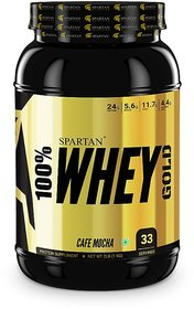Spartan Nutrition  Whey Protein PRO Series (2LBS, Cafe