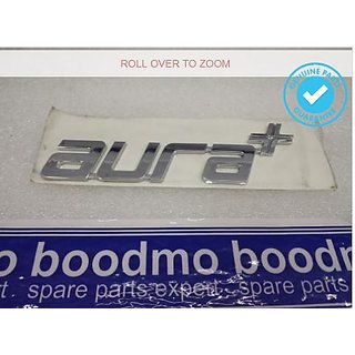Logo TATA INDIGO MANZA AURA+ AURA PLUS Monogram Emblem Chrome Graphics Decals Mono