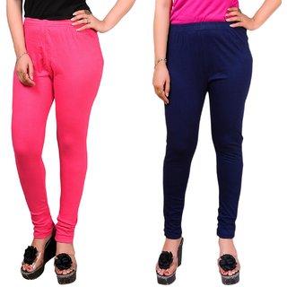 MAA-AADYA Cotton leggings for Women(PACK OF 2)