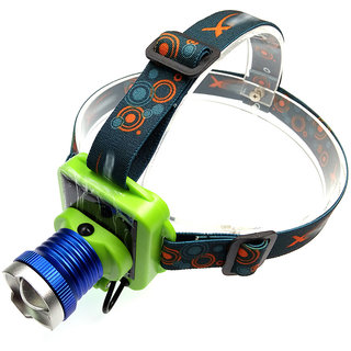 JM Solar Rechargeable LED Headlamp Headlight FlashLight Head lamp light Torch -31