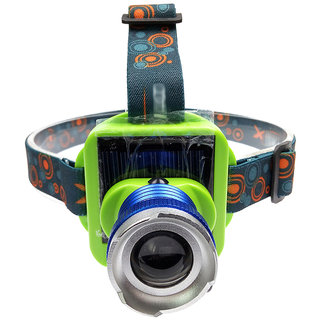 JM LED Solar Rechargeable Headlamp Headlight Head lamp light Torch FlashLight -31