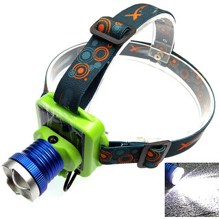 JM Solar Rechargeable LED Headlight FlashLight Headlamp Head lamp light Torch -31
