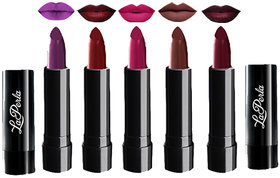 Pack Of 5 Laperla Crola Lipstick 4.5 g Each