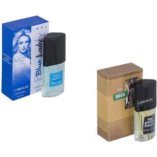 Set of 2 Carrolite perfumes- The Boss & Blue lady