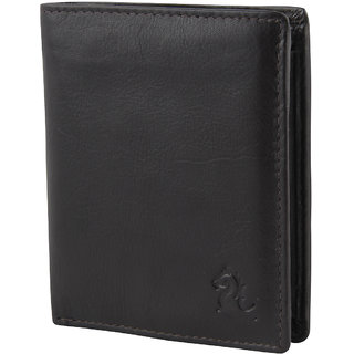 Kara Men Brown Leather Wallet-Onesize-Brown