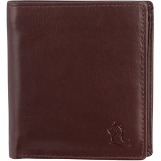 Kara Men Tan Leather Wallet-Onesize-Tan