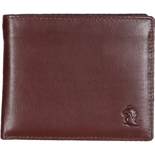 Kara Men Tan Solid Two Fold Wallet-STANDARDSIZE-Tan