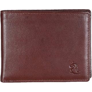 Kara Men Tan Solid Two Fold Wallet-Onesize-Tan