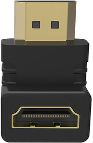 Everycom HDMI Female to HDMI Male 270 Adapter  Black