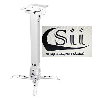 Sii 2 Feet Ceiling mount square Projector Stand (Maximum Load Capacity 20 kg)