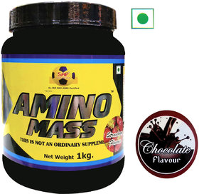 Sap Nutrition Amino Mass 1Kg Chocolate Flavour