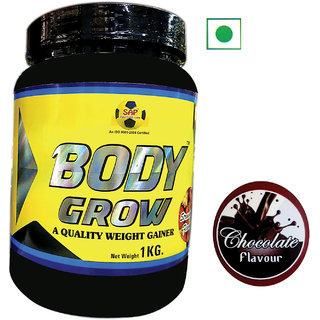 Sap Nutrition Body Grow 1Kg Chocolate Flavour
