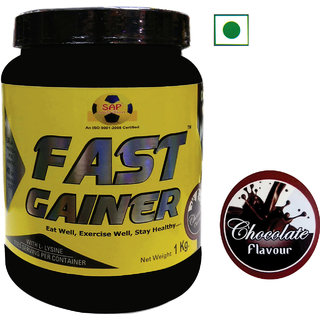 Sap Nutrition Fast Gainer  1Kg Chocolate Flavour