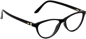 HRINKAR Black Rectangle and Square Bifocal and Single Vision Latest Optical Spectacle Chasama Frame - HFRM-BK-13