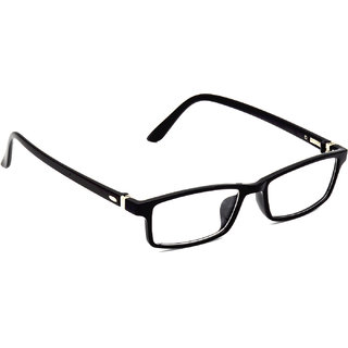 HRINKAR Black Rectangle and Square Bifocal and Single Vision Latest Optical Spectacle Chasama Frame - HFRM-BK-12