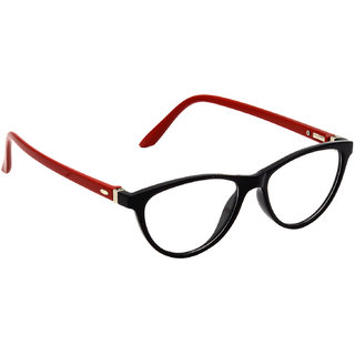 HRINKAR Black Rectangle and Square Bifocal and Single Vision Latest Optical Spectacle Chasama Frame - HFRM-BK-RD-13