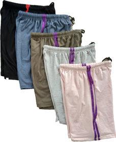 CH FASHION Hosiery shorts (Combo of 5)