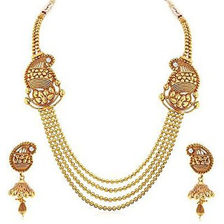 YouBella Fashion Jewellery Necklace Set for Girls and Women